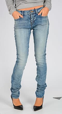 15 cm Stretch Denim Jeans Größe 27 Saint Laurent