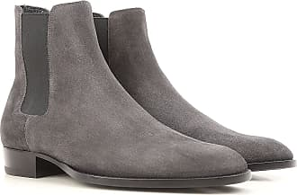 Chelsea Boots for Men On Sale, New Sigaro, Suede leather, 2017, 7 7.5 9.5 Saint Laurent