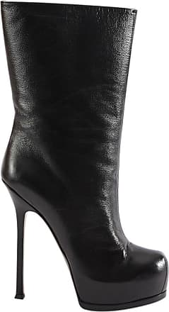 Bottines en cuir Army 25Saint Laurent bUBhps