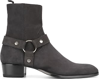 Boots for Men, Booties, Landed, Suede leather, 2017, 7.5 8 9 Saint Laurent