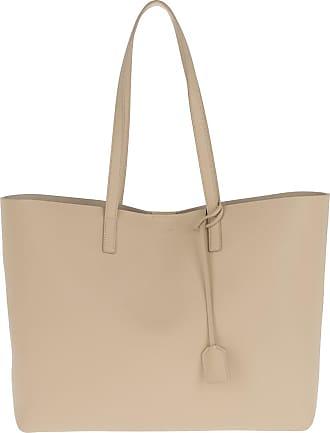 YSL Large Shopping Bag Black Tulip Shopper lila Saint Laurent ip79t