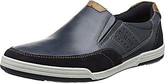 Torsten, Zapatos de Cordones Derby para Hombre, Azul (Navy/BLU 02), 44 EU Salamander