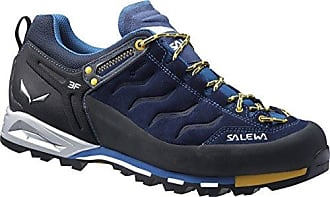 Salewa Mountain Trainer GTX 00-0000063416 Damen Bergschuhe, Schwarz (Carbon/Pagoda 0787), 42 EU (8 Damen UK)