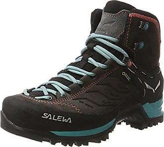 Salewa Mountain Trainer Mid, Chaussures de Randonnée Hautes homme, Noir (Black/Indio 0943), 40 EU
