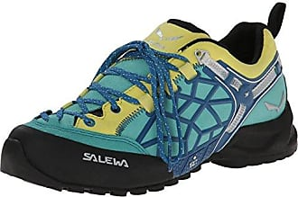 Salewa Damen WS Speed Ascent Turnschuhe, Verde/Rojo (Firebrick/Silvretta 1623), 36.5 EU
