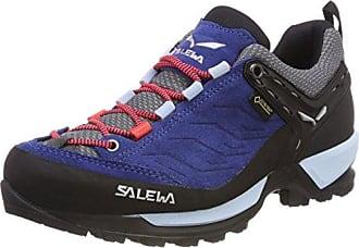 Salewa Damen WS MTN Trainer GTX Trekking-& Wanderhalbschuhe, Blau (Dark Denim/Papavero 8673), 42 EU