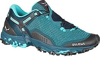 WS Ultra Train 2, Chaussures de Randonnée Basses Femme, Multicolore (Pale Mawe/Magnet 0120), 43 EUSalewa