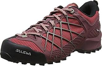 Salewa WS Ultra Train 2, Chaussures de Randonnée Basses Femme, Multicolore (Pale Mawe/Magnet 0120), 38 EU