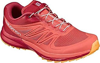 Salomon Damen Sense Pro 2 W Traillaufschuhe, Orange (Living Coral/Poppy Red/Bright Marigold 57), 39 1/3 EU
