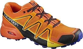 Salomon Speedcross Vario 2, Chaussures de Trail homme - Orange (Bright Marigold/Scarlet Ibis/Surf The Web), 49.1/3 EU (13.5 UK)