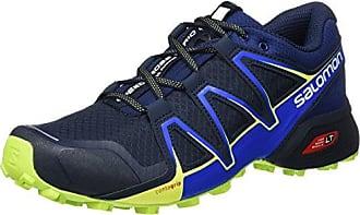 Salomon X Ultra 3, Chaussures d'escalade Homme, Multicolore - Vert (Darkest Spruce/Guacamole/Sulphur SP), 46 2/3 EU