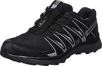Salomon Femme XA Lite Chaussures de Trail Running, Noir (Black/Magnet/Grape Juice), Taille: 5.5