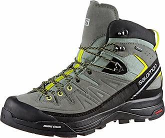 Salomon Damen X Alp Mid Ltr GTX W Trekking-& Wanderstiefel, Schwarz (Black/Nightshade Grey/Coral Punch 000), 36 EU