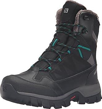 Salomon Shelter Spikes CS WP W Bk/Bk/Windy, Schuhe, Stiefel & Boots, Wanderschuhe, Lila, Female, 37