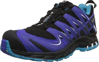 Salomon Xa Pro 3D GTX® W Shadow/Black/Sangria, Schuhe, Sneaker & Sportschuhe, Walking-Schuhe, Grau, Türkis, Female, 36