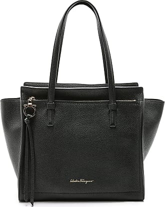 Tote Bag On Sale in Outlet, Bonnie, Blue, Leather, 2017, one size Salvatore Ferragamo