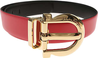 Womens Belts On Sale in Outlet, Reversible, Pink, Leather, 2017, 32 inches - 80 cm 36 inches - 90 cm Salvatore Ferragamo