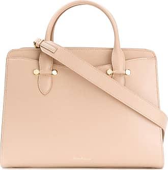 Salvatore Ferragamo Tote Bag On Sale, Kittie Bag, cappuccino, Calfskin Leather, 2017, one size