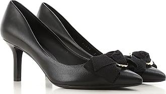 Zapatos de Tacón de Salón Baratos en Rebajas, Negro, Piel, 2017, 35.5 36.5 37 37.5 38.5 Salvatore Ferragamo