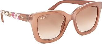 Sunglasses On Sale, Opaline Green, 2017, one size Salvatore Ferragamo