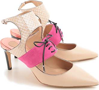 Chaussures Femme Pas cher en Soldes, Chair, Cuir, 2017, 37Salvatore Ferragamo
