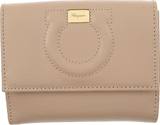 Wallet for Women On Sale, Light Grey, Leather, 2017, One size Salvatore Ferragamo
