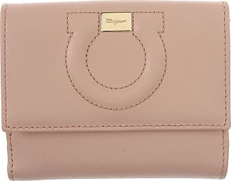 Wallet for Women, Cream, Leather, 2017, One size Salvatore Ferragamo