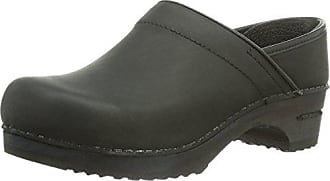 Sanita Julie closed, Damen Clogs, Schwarz (Black 2), 41 EU