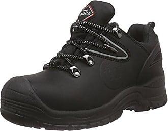 Sanita San-Safe Mississippi Lace Shoe, Zapatos de Seguridad Unisex Adultos, Negro (Black 2), 42 EU