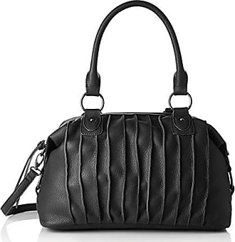 Bowling Bag, Womens Satchel, Schwarz (Black), 10x24x32 cm (B x H T) Sansibar
