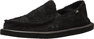 Donna Crochet, Mocasines para Mujer, Negro (Black/Black), 42 EU Sanuk