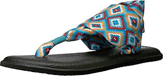 Damen Yoga Sling 2 Prints Zehentrenner, Mehrfarbig (The Ranch), 40 EU Sanuk