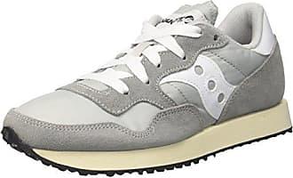 Saucony Jazz O Vintage, Chaussures de Cross Homme, Multicolore-Beige/Brun Clair/Gris Ciment (Beige (Cement/Tan 21)), 40.5 EU