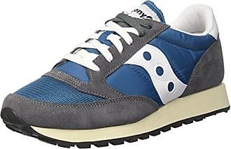 Saucony Jazz 20, Zapatillas de Deporte para Hombre, Azul (BLU/Blk 2), 45 EU