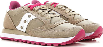 Sneakers for Women On Sale, Grey, Suede leather, 2017, US 7 (EU 38) US 8 (EU 39) US 9 (EU 40) Saucony