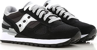 Sneakers for Women On Sale, Black, suede, 2017, US 5 (EU 36) US 9 (EU 40) Saucony