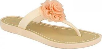 Savannah Damen Zehensteg-Sandale mit Rosen-Applikation (36 EU) (Pink) 101hQAAlU