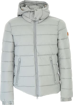 Down Jacket for Men, Puffer Ski Jacket On Sale, Frost Grey, polyamide, 2017, 2 - Uk/Usa M - Ita 48 Save The Duck