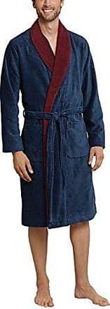 Schiesser Bademantel, Robe de Chambre Homme, (Indigo 824), Large (Taille du Fabricant: 052)