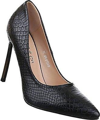 Damen Pumps Schuhe High Heels Stiletto Abendschuhe Schwarz 38 Schuhcity24 aECgXkc