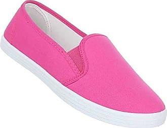 Damen Schuhe Freizeitschuhe Sneaker Slipper Pink 39 rmL2b