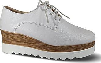 Damen Schnürer Halbschuhe Schnürhalbschuhe Plateau Glanz Sneakers ST25E (39, Schwarz) Schuhtraum