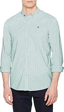 Scotch&Soda Classic Longsleeve Shirt with Fixed Multicolour Pochet, Chemise Casual Homme, (Combo A), M