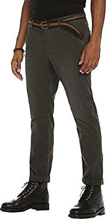 Relaxed Slim Fit, Pantalones para Hombre, Negro (Charcoal 0560), W33/L34 Scotch & Soda