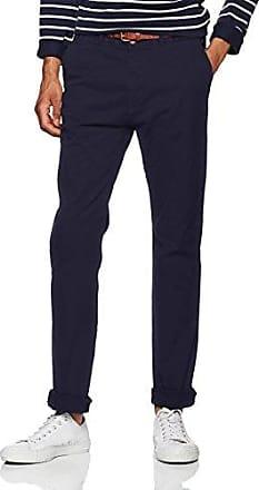 Classic Tailored Pants, Pantalon Femme, Bleu (Navy 04), W38Scotch & Soda