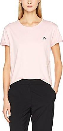 Scotch & Soda Maison Sporty tee with 3/4 Sleeve, Camiseta para Mujer, Gris (Grey Melange 0g), X-Small