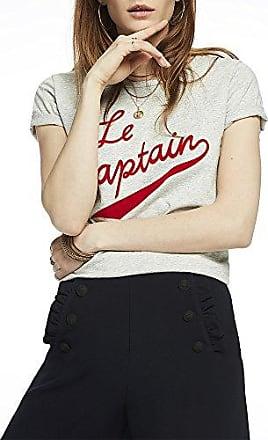 Maison Damen Regular Fit Artwork T-Shirt Scotch & Soda