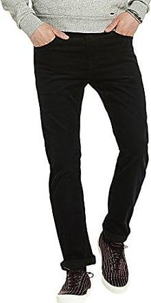 Regular Slim Fit, Pantalones para Hombre, Negro (Black 0008), W30/L34 Scotch & Soda
