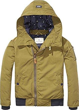 Scotch&Soda Shrunk Basic Puffer Jacket, Blouson Gar?on, (Black 008), 140 (Taille Fabricant: 10)