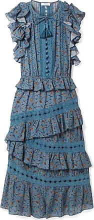 Sea Woman One-shoulder Ruffled Twill Mini Dress Black Size 6 Sea New York InfQVCDXh